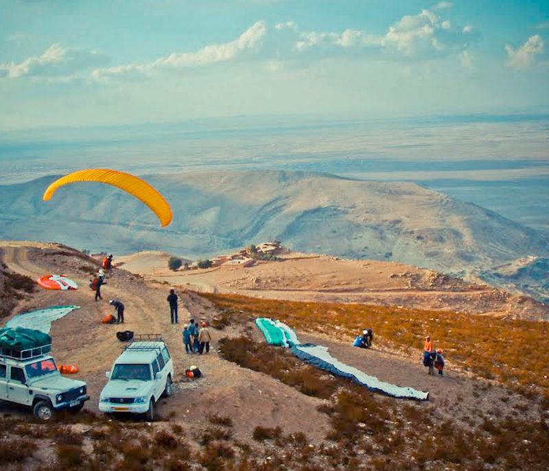 Iktichaf Travel Paragliding Morocco