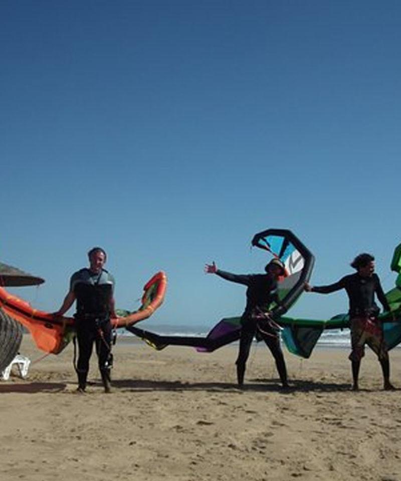 Kitesurfing Essaouira Morocco Iktichaf Travel