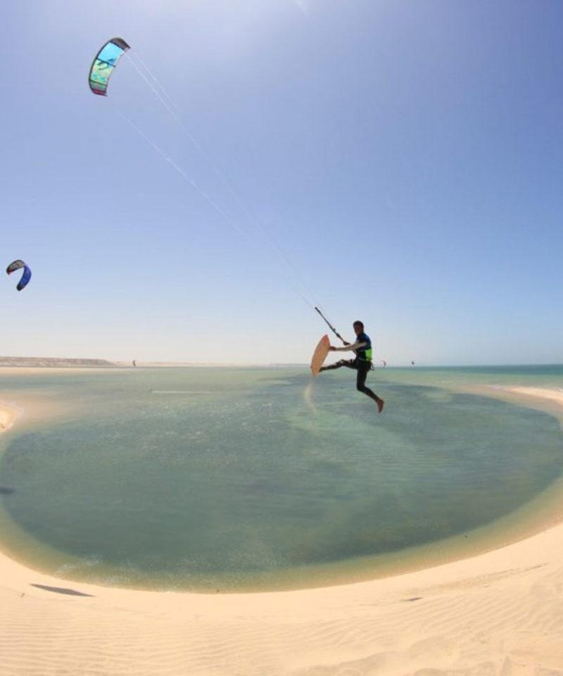 Kitesurfing Dakhla Morocco Iktichaf Travel