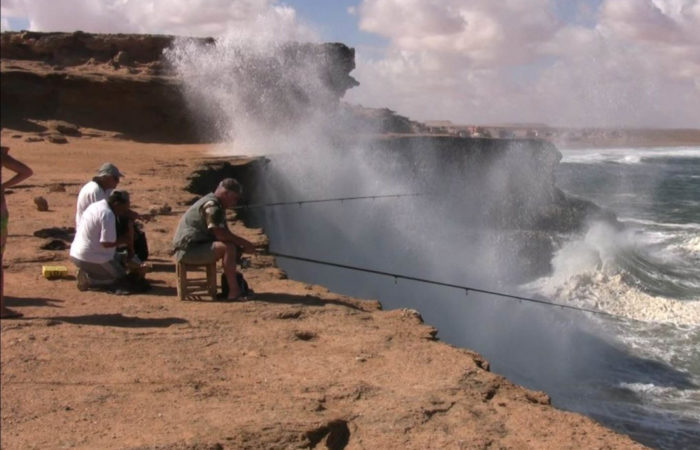 Fishing Akhfennir Cliff Morocco Iktichaf Travel