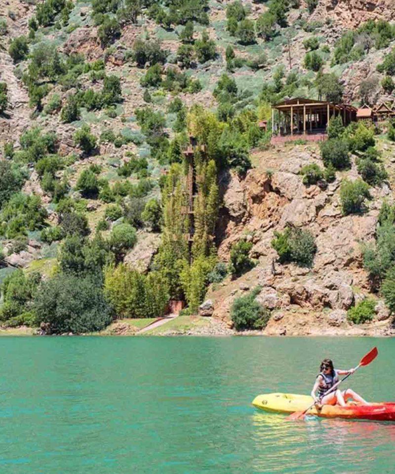 Kayaking Bin El Ouidane Morocco Iktichaf Travel