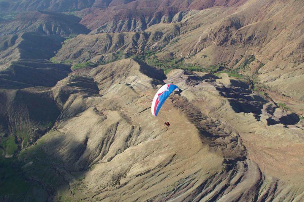 Paragliding Atlas Morocco Iktichaf Travel
