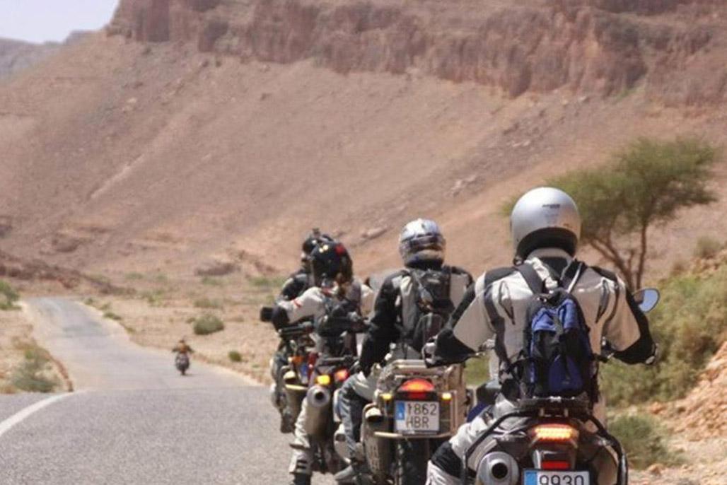 Motorcycle Morocco Iktichaf Travel