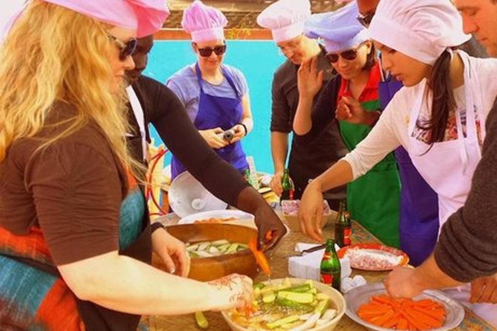Cooking class Marrakech Morocco Iktichaf Travel