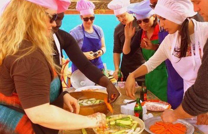 Cooking class Marrakech Morocco Iktichaf Travel