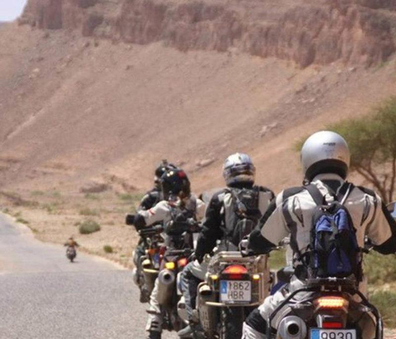 Iktichaf Travel Motorcycling Biking Morocco