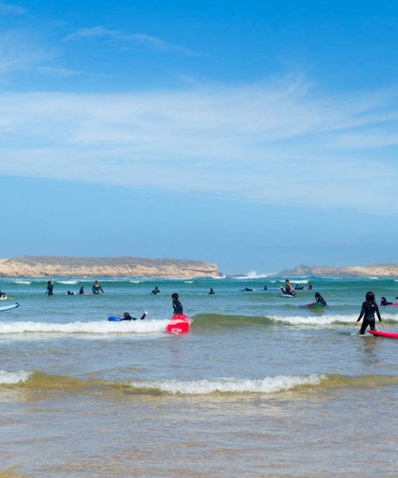 Surfing Oualidia Morocco Iktichaf Travel