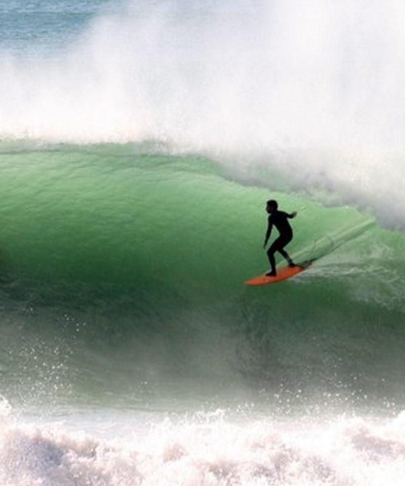 Surfing Ras Lafaa Morocco Iktichaf Travel