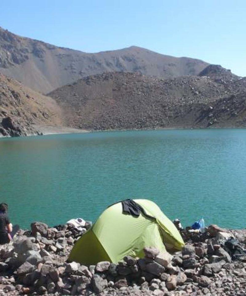 Hiking Atlas Lake Ifni Morocco Iktichaf Travel